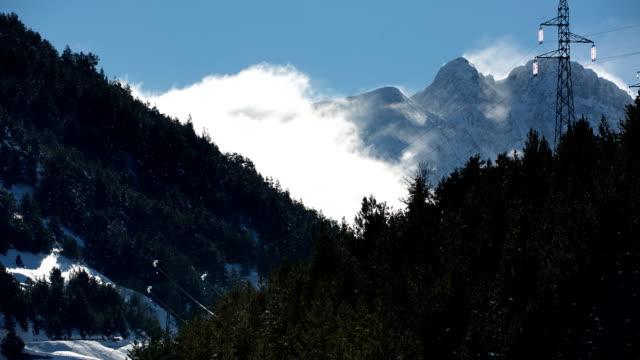 피레네 산맥 - lleida 스톡 비디오 및 b-롤 화면