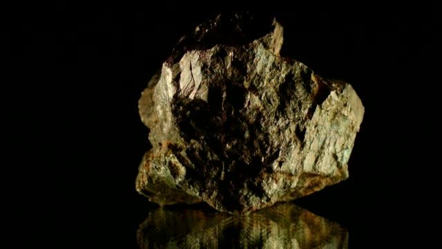 pyrit på svart - mineral bildbanksvideor och videomaterial från bakom kulisserna