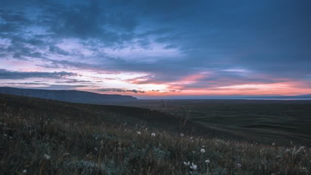Qinghai lake sunrise, qinghai province, China