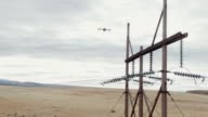 istock A Quadcopter Drone Inspects Power Lines in the Grand Valley of Western Colorado under a Partly Cloudy Sky 1200750058