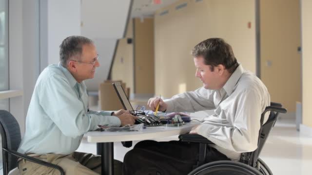 Quadriplegic Engineer Struggling to Use His Hands
