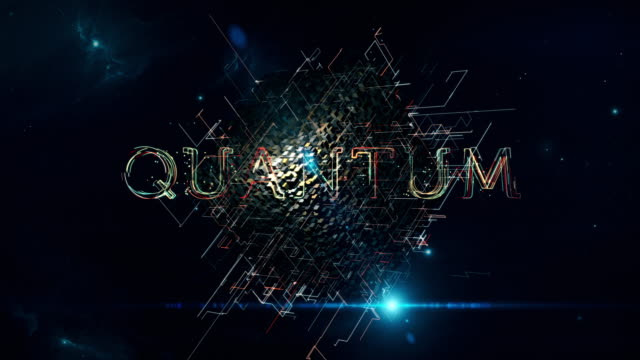 stockvideo's en b-roll-footage met quantum matrix kubus - supergeleider