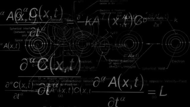 quantum physics background black positron video