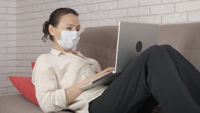 quarantined work. - eastern european descent stock videos & royalty-free footage