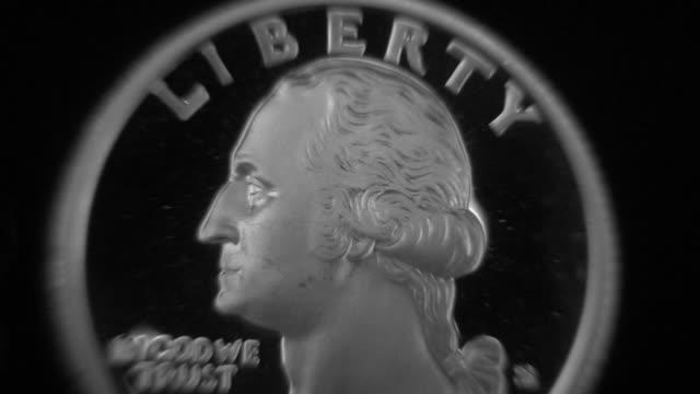 4-nahaufnahme von münze - zahl 25 stock-videos und b-roll-filmmaterial