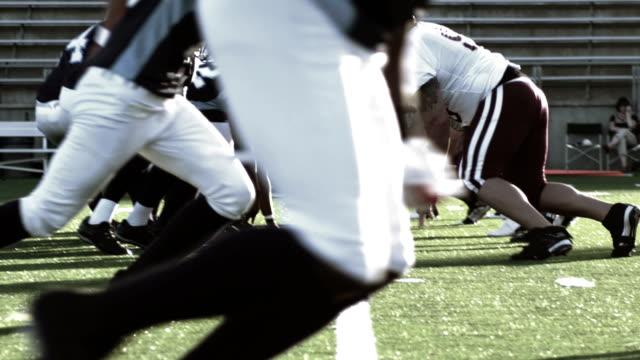 Quarterback passes video