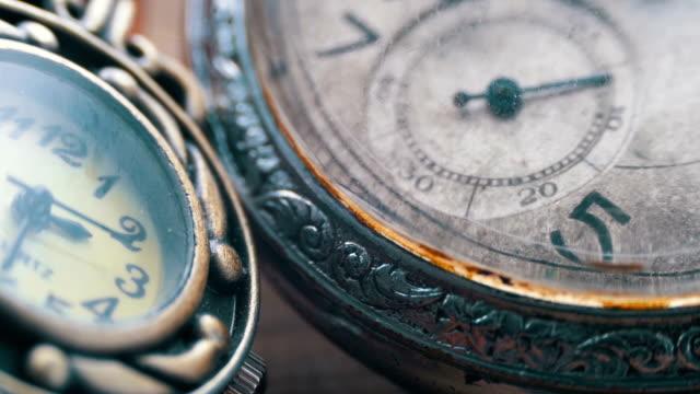 Quartz and mechanical clocks video
