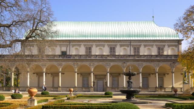 Queen Anne's Summer Palace In Royal Garden of Prague Castle video