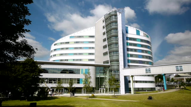 Queen Elizabeth Hospital, Birmingham. - video