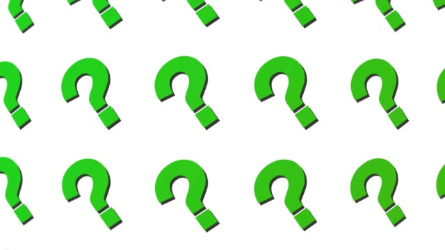 question mark background motion loop