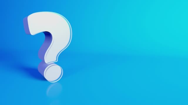 Question Mark Symbol, FAQ, Q&A - 4K Footage Question mark animated background footage survey icon stock videos & royalty-free footage