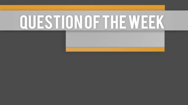 Question of the week animated title Question of the week animated title faq stock videos & royalty-free footage