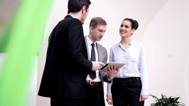 Quick business agreement video