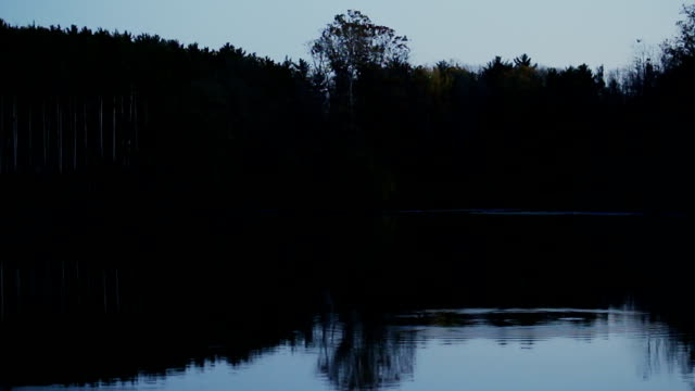 Quiet Calm Lake During Dusk video