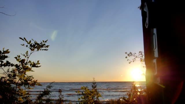 Quiet lake in Ontario - Canada video