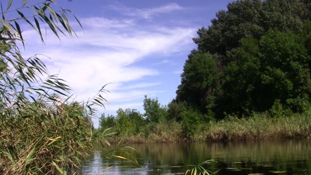 quiet little river in central Russia. Voronezh region video
