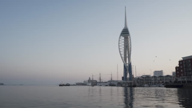 A Quiet Morning in Portsmouth (4K)