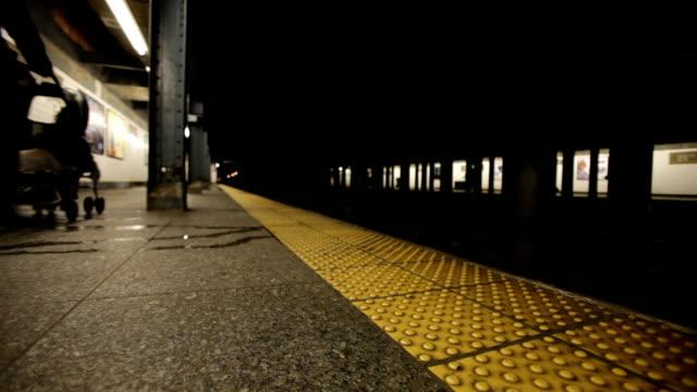 Quiet New York Subway station video