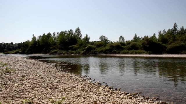 Quiet river video
