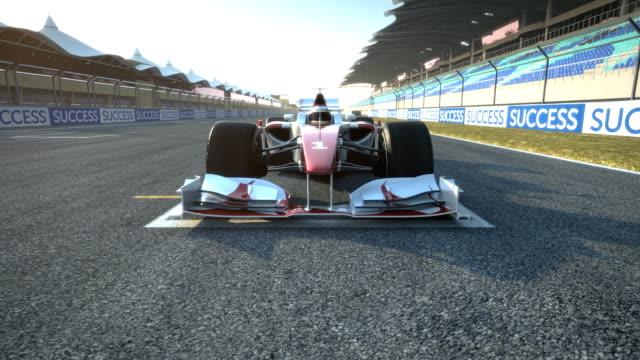 レース車で加速開始位置 - 戦い点の映像素材/bロール