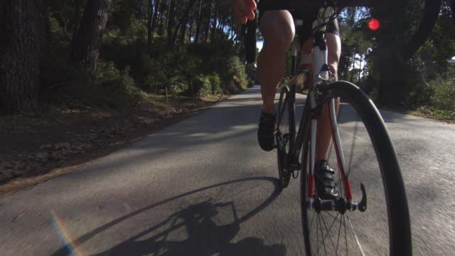 Racing Cyclist video