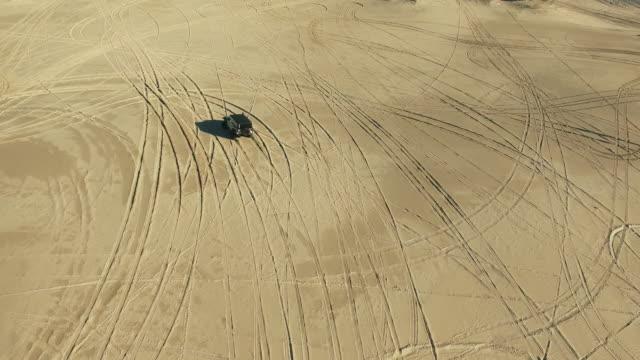 Racing through the desert video