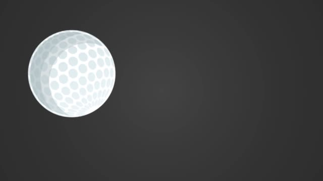 racket and ball ping pong animation video