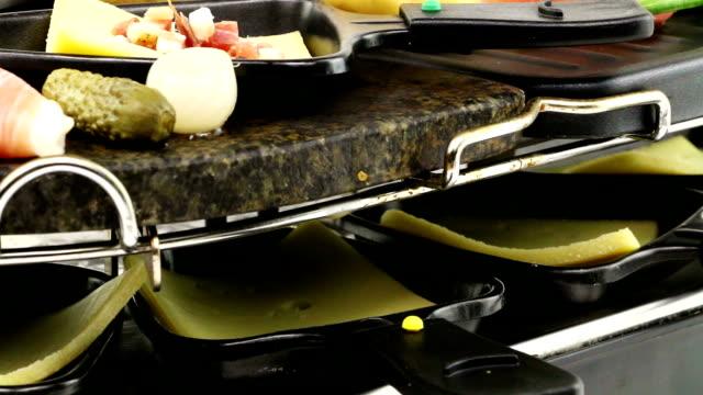 raclette - raclette stock-videos und b-roll-filmmaterial