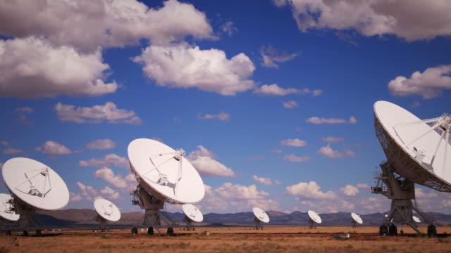 Radar Array Dish Time Lapse