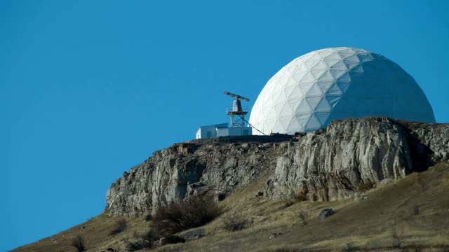 radar on a mountain top video