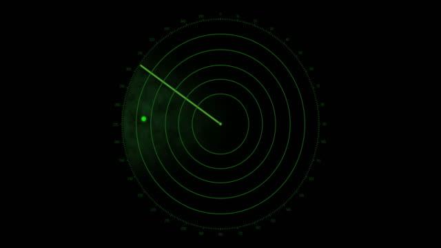 4K Radar Screen - Loopable video