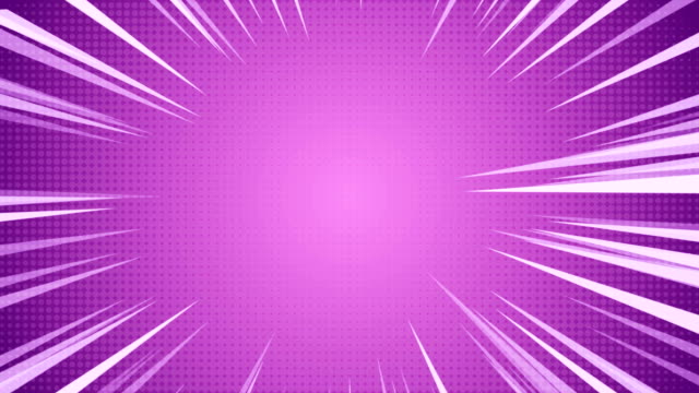 radial background of halftones and high-speed abstract lines for anime - super hero stock videos & royalty-free footage