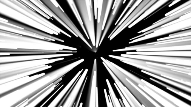 Radial lines flowing motion background video