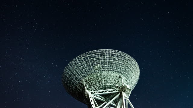 T/L Radio Telescope Observing the Milky Way