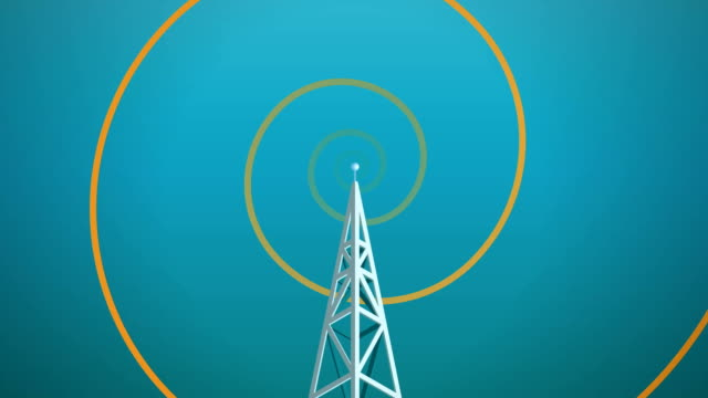 radio tower waves