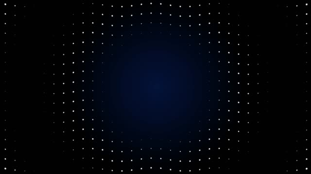 4k radio wave led screen particles. circuit light animation. loopable. - sfondo multicolore video stock e b–roll