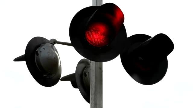 Railroad Crossing Signal video
