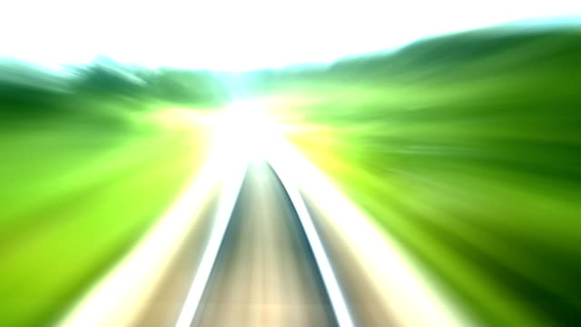 railroad turning loop video