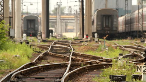 Railroads sorting / Russia. Moscow video