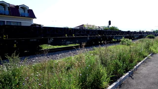 Rails, wagons, train