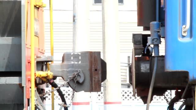 vidéos et rushes de ferroviaire de lier. vue rapprochée/russie - wagon