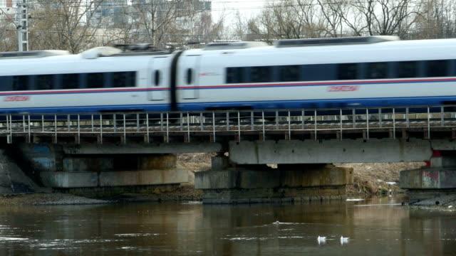 railway passenger express movement - intercity filmów i materiałów b-roll