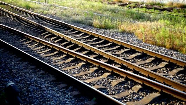 Railway track. video