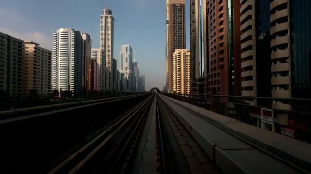 Railway Travel in Dubai video