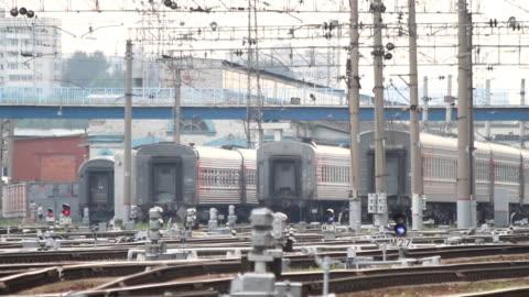 Railways Train / Russia.Moscow video