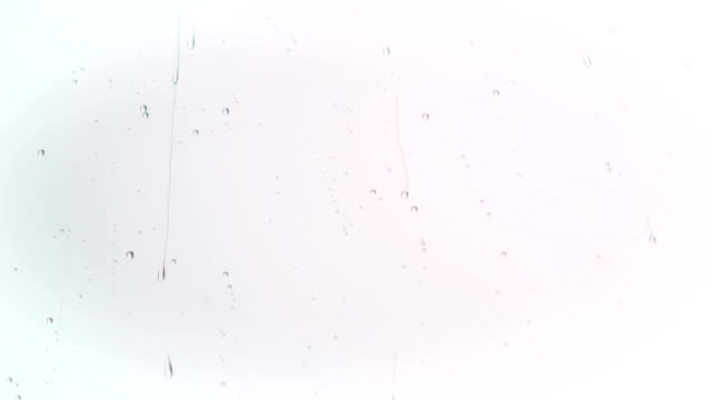 Rain drop on the window Drop, Window, Glass - Material, Falling, Bubble drop stock videos & royalty-free footage