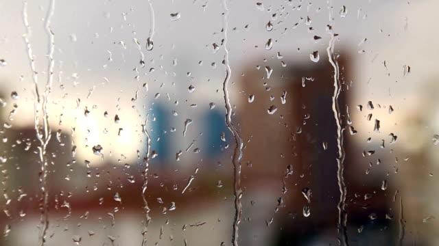 Gouttes de pluie - Vidéo
