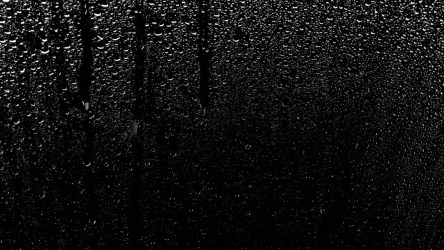 Rain drops Rain drops, ideal for compositing over an image, a blending mode (add, screen) can be use to remove the black background. condensation stock videos & royalty-free footage