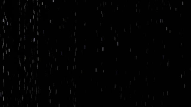Rain in Slow Motion Rain over a black background in slow motion. rain stock videos & royalty-free footage