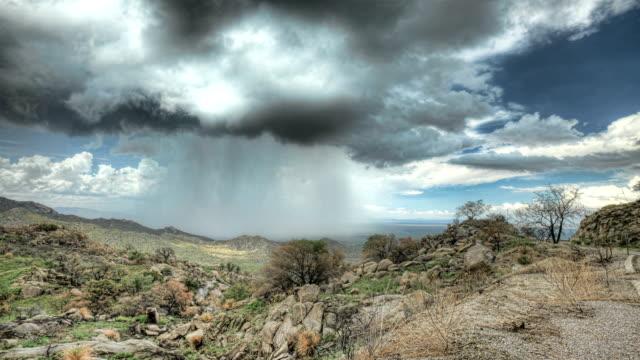 Rain on Kitt Peak video